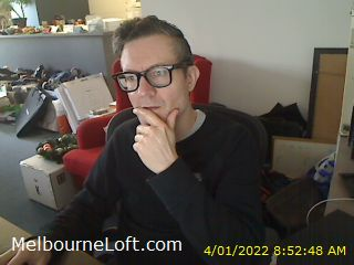 Webcam image of Melbourne Loft